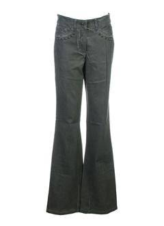 airfield pantalons femme de couleur kaki