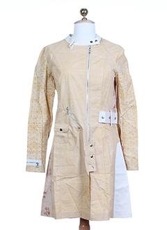 custo vestes femme de couleur camel