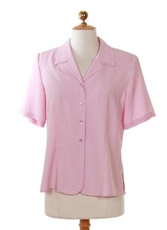 prunelle chemises femme de couleur rose