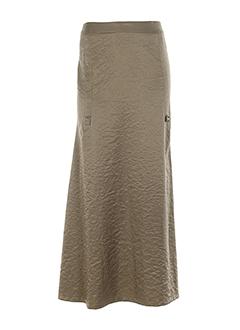 angora jupes et longues femme de couleur beige