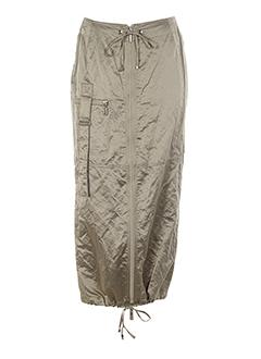 Jupe longue gris AIRFIELD pour femme