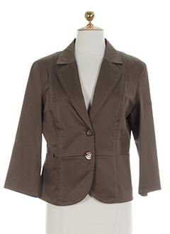 diana gallesi vestes femme de couleur marron clair