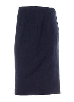 Jupe mi-longue bleu marine WEILL pour femme