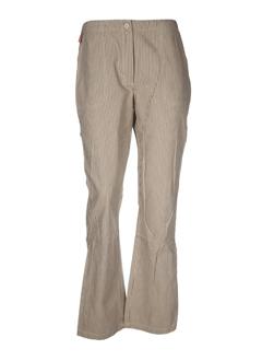 dorotennis pantalons et decontractes femme de couleur beige