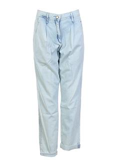 miss sixty pantalons femme de couleur bleu ciel