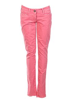 miss sixty jeans fille de couleur rose clair