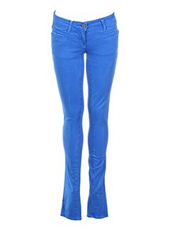 Jeans coupe slim bleu electrique MISS SIXTY pour fille