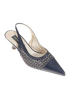 krystel chaussures femme de couleur bleu fonce