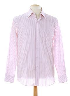 clifter chemises homme de couleur rose clair