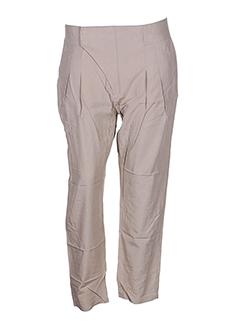 charlie joe pantalons femme de couleur beige