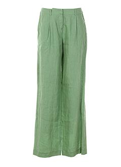 niu pantalons et decontractes femme de couleur vert