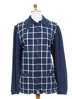 blue willi's vestes femme de couleur bleu