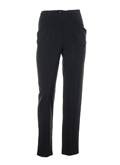 rosa rosam pantalons femme de couleur gris fonce