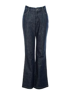new man jeans femme de couleur bleu fonce