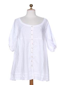 be the queen chemises femme de couleur blanc