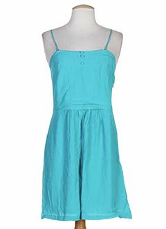 2 et two robes et mi et longues femme de couleur bleu (photo)