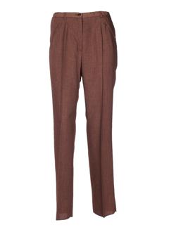 kiplay pantalons femme de couleur marron