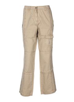 kiplay pantalons femme de couleur beige