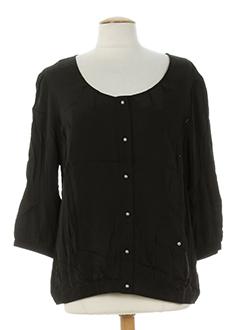 Veste casual noir BE THE QUEEN pour femme