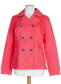 street one vestes femme de couleur rouge clair