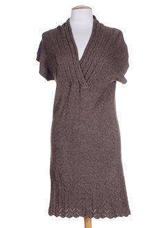 ddp robes femme de couleur marron
