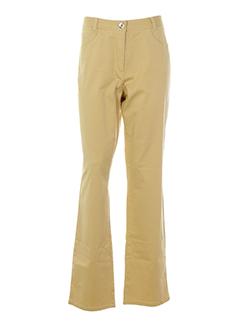 jocavi pantalons femme de couleur beige