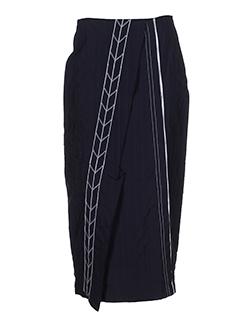 lauren vidal jupes femme de couleur noir