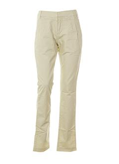 yaya pantalons et decontractes femme de couleur beige