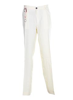 vuarnet pantalons et decontractes homme de couleur beige