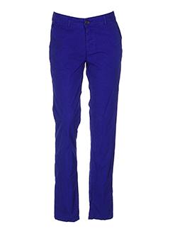 my et pants pantalons et decontractes femme de couleur bleu