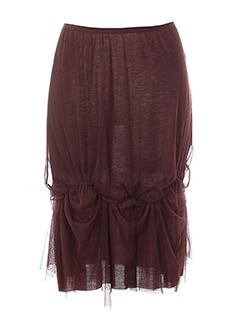 lauren vidal jupes femme de couleur violet