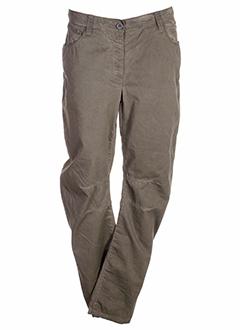 black label pantalons femme de couleur marron