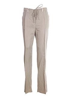 marina rinaldi pantalons femme de couleur beige