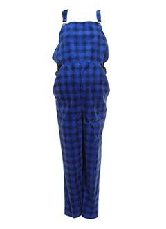 alirel salopettes femme de couleur bleu