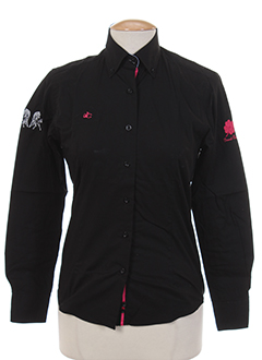 les ecuries de charlene chemises femme de couleur noir