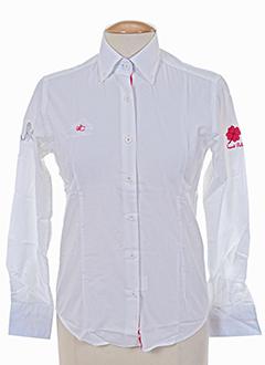 les ecuries de charlene chemises femme de couleur blanc
