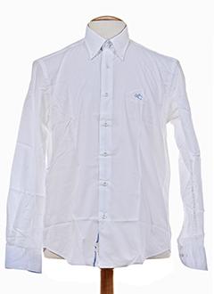 les ecuries de charlene chemises homme de couleur blanc