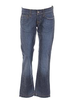 fornarina jeans et coupe et droite femme de couleur bleu
