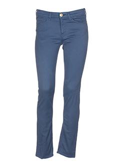 shine pantalons et decontractes femme de couleur bleu