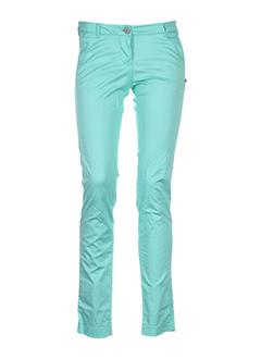 maison scotch pantalons femme de couleur vert