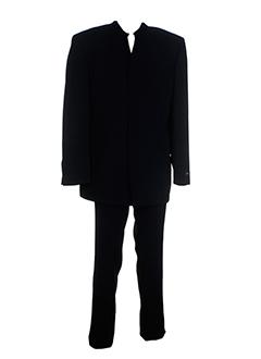 griffe noire costumes homme de couleur noir