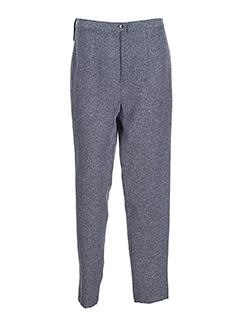 prunelle pantalons femme de couleur gris