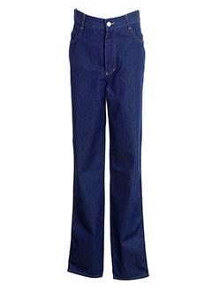 leone pantalons et decontractes femme de couleur bleu