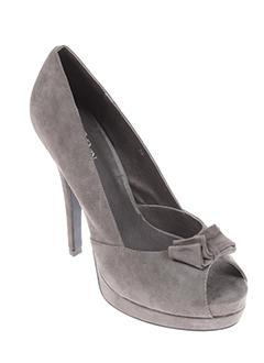 bev EFFI_CHAR_1 ben chaussures femme de couleur gris