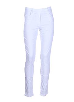 zone bleue pantalons femme de couleur gris