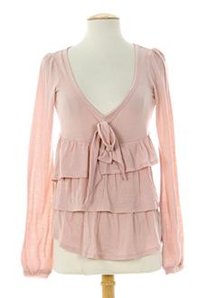 fornarina chemises femme de couleur rose
