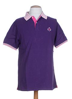 crossways t-shirts homme de couleur violet