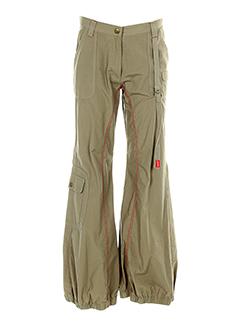 kookai pantalons et decontractes fille de couleur vert