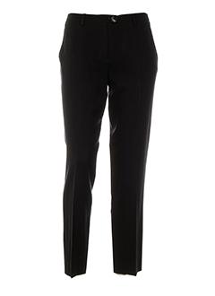 il punto pantalons femme de couleur noir
