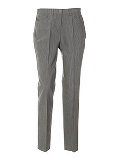 aqua pantalons femme de couleur gris